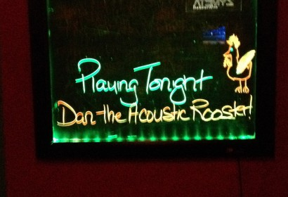 Dan Letwin - Acoustic Rooster Sign