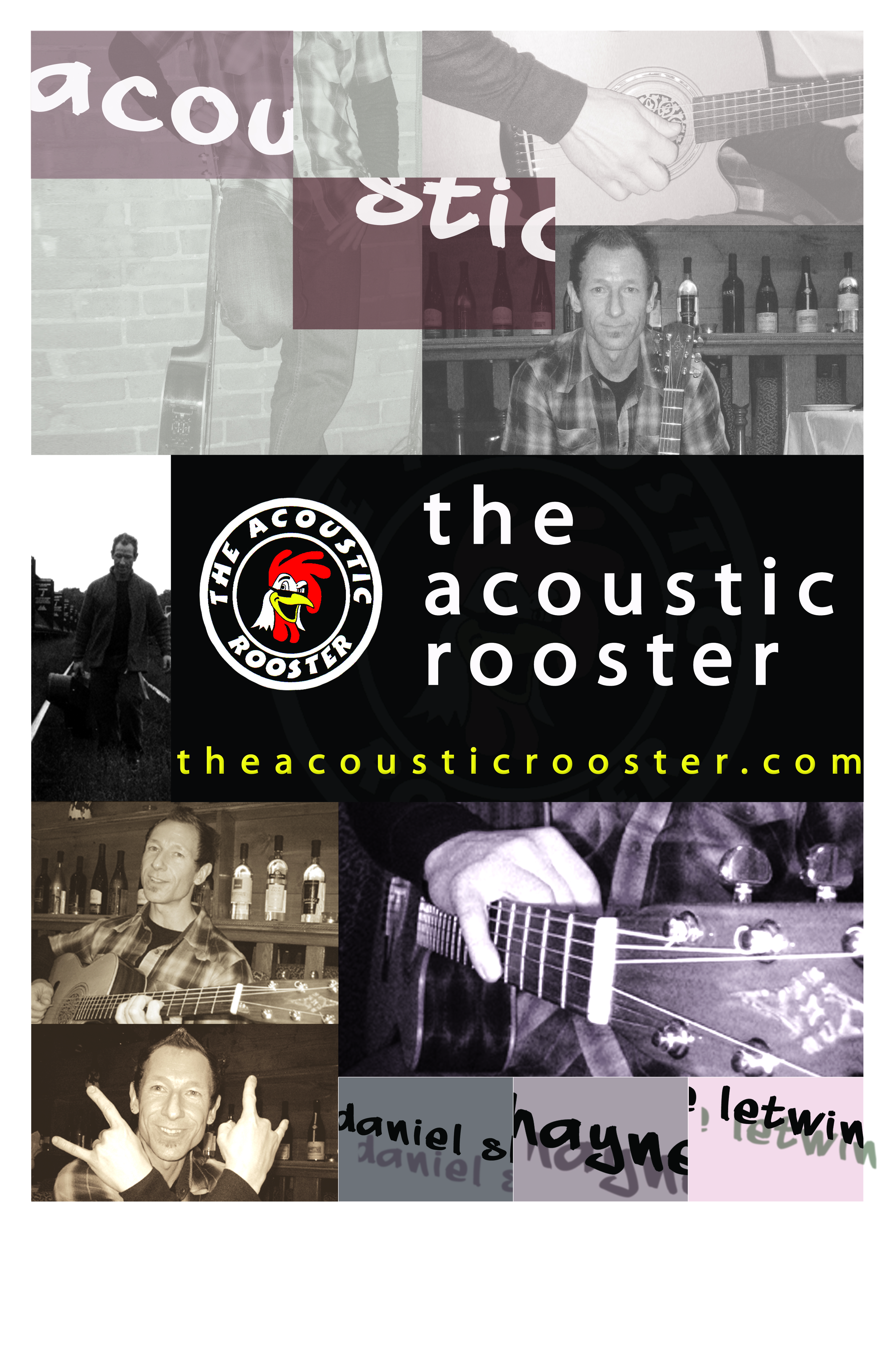 Acoustic Rooster Poster 1
